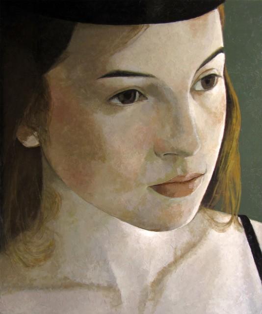Pierre Lefebvre, 'Marianne au chapeau noir', 2019, Galerie de Bellefeuille