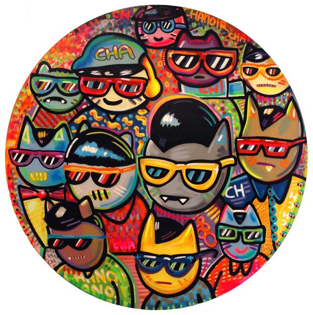 , 'Cha Hipster à Lunettes,' 2012, Galerie Art Jingle