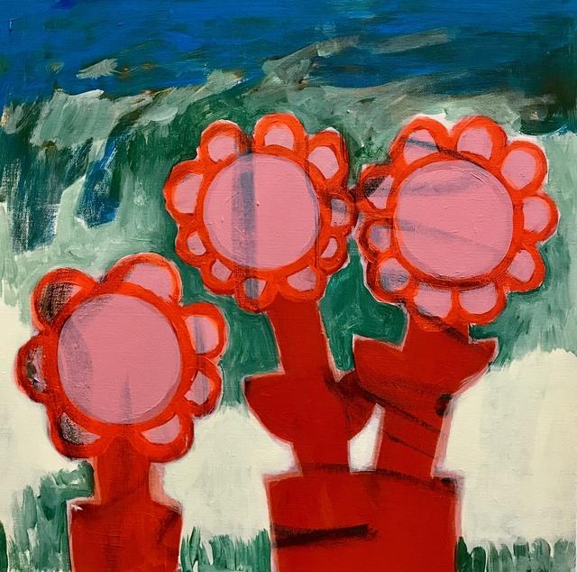 , 'Chunky Flowers I,' 2019, Geary