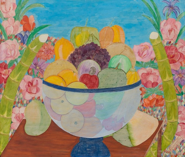 , ' Untitled (Still Life Fruit in Bowl) ,' dated 1959, ZQ Art Gallery
