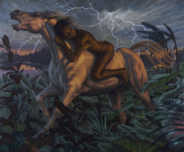 , 'Pale Horse,' 2011, Koplin Del Rio