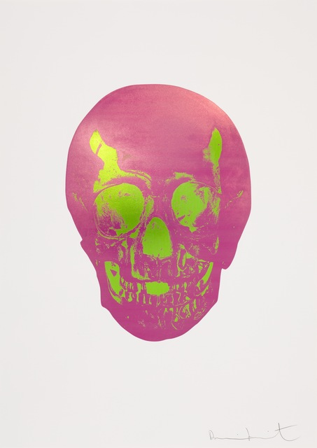 , 'The Sick Dead: Loganberry Pink/Lime Green Skull ,' 2009, Paul Stolper Gallery