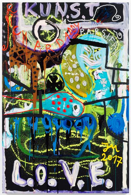 ", '""MILITÄR ""K.U.N.S.T."" (WILDBRÄT),' 2017, Galerie Krinzinger"