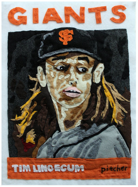 , 'From a Small Seed (Tim Lincecum),' 2016, Black Book Gallery
