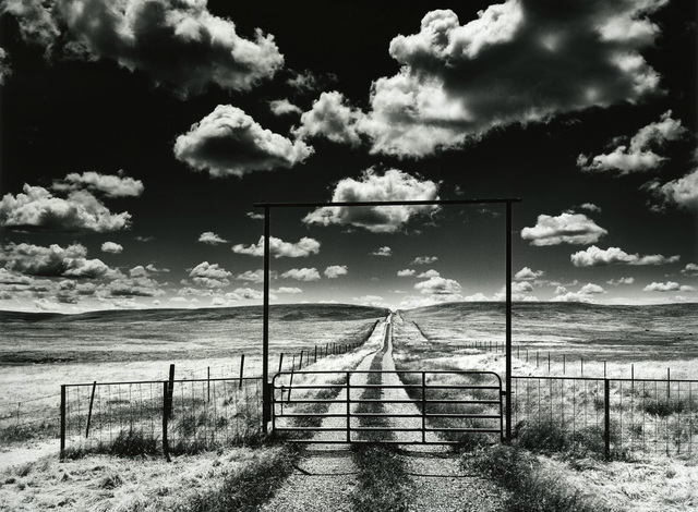 , 'Private Road with Clouds,' 1993, Photography West Gallery