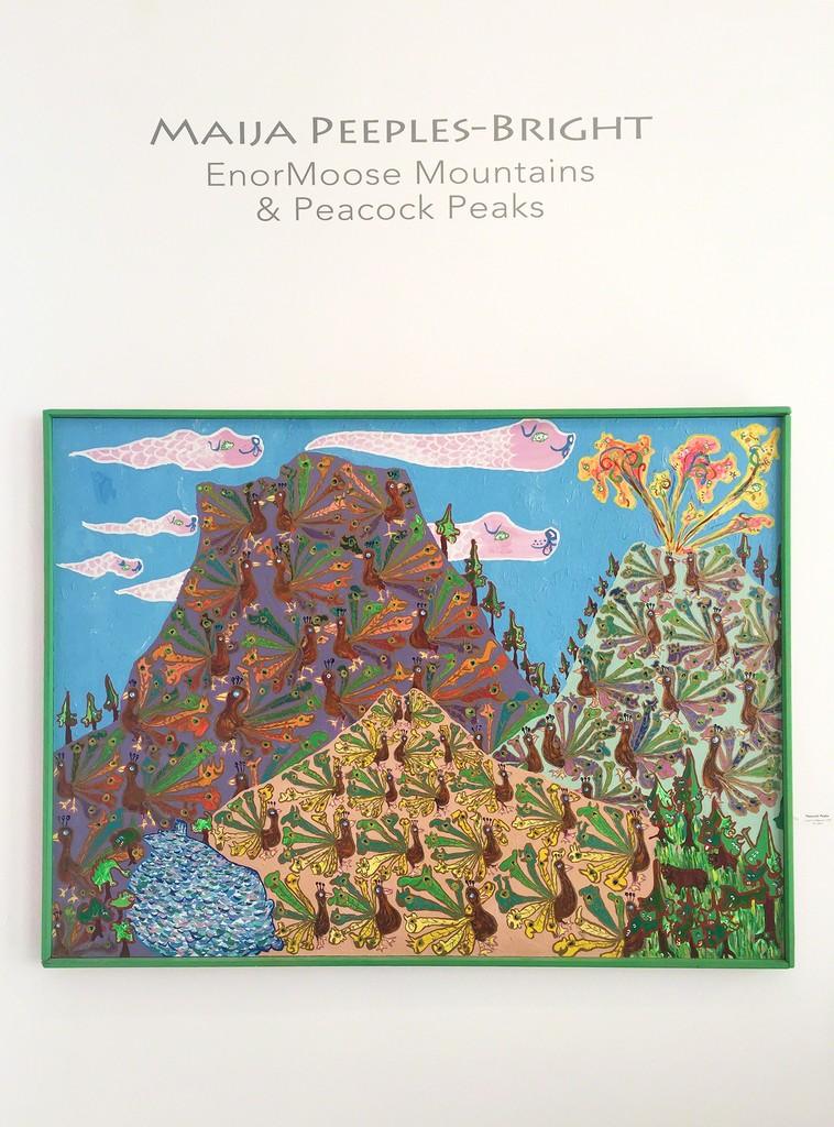 Maija Peeples-Bright's Peacock Peaks, 1970