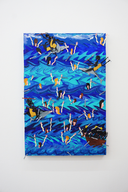 , 'Swimming with the dolphins,' 2018, V1 Gallery