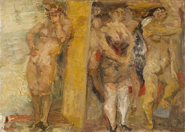 Fausto Pirandello, 'Bagnanti', anni 30-40, Finarte