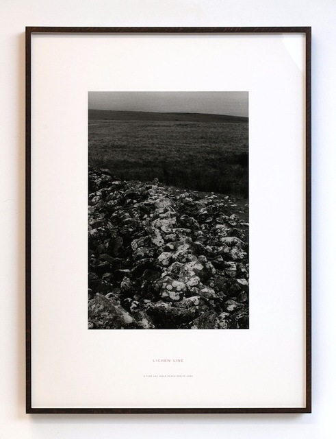 Richard Long, 'Lichen Line: A 5 Day Walk in Mid-Wales', 2002, Kayne Griffin Corcoran