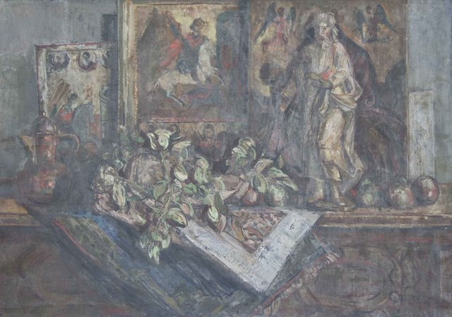 , 'Still Life with Icons,' 1950, Museum of Modern Art Dubrovnik
