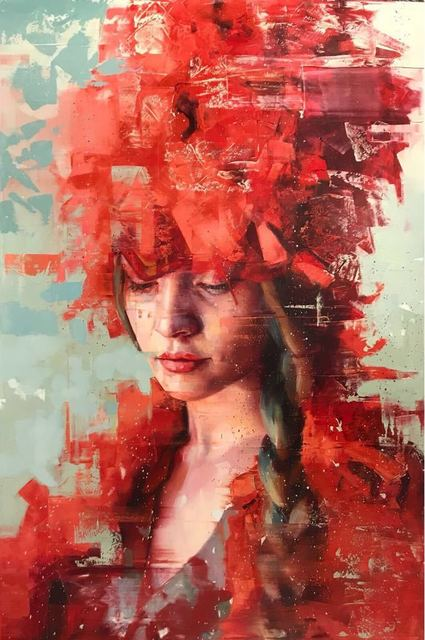 , 'Dreamers - Red Series 08,' 2017, LGM Arte Internacional