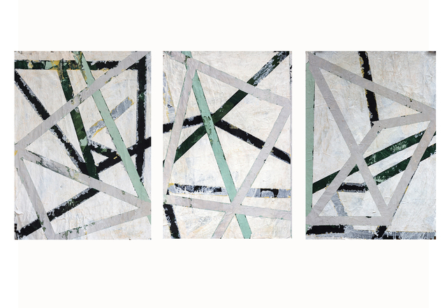 , 'Untitled (triptych),' 2016, Circle Art Agency