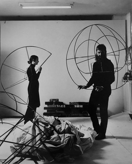 , 'Michelangelo e Maria Pistoletto,' 1970, Lia Rumma