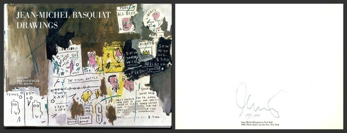 Jean-Michel Basquiat Drawing (Limited Edition, Hand Signed & Numbered)