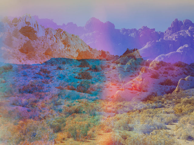 , 'Psychscape 18 (Banner Ridge, CA),' 2017, McEvoy Foundation for the Arts