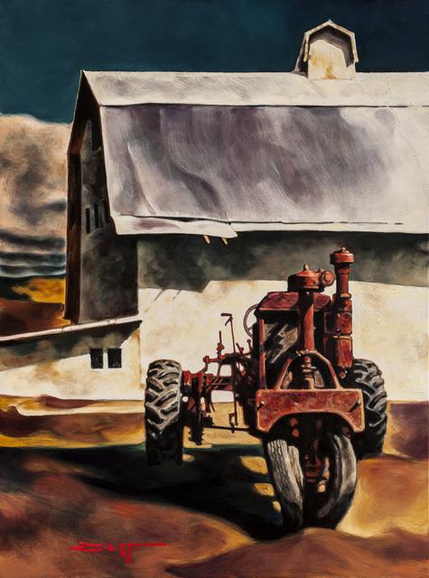 , 'Big Red,' 2017, Patricia Rovzar Gallery