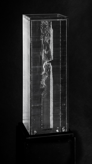 , 'Pixels Archi-Sculpture,' 2016, The Mayor Gallery
