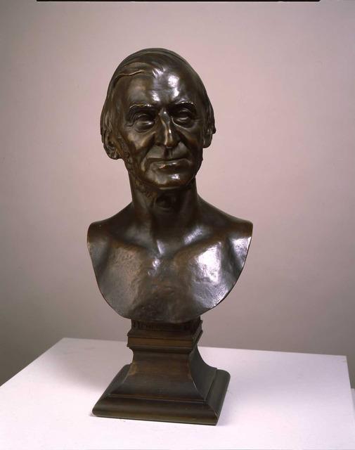 , 'Ralph Waldo Emerson,' 1879, Montclair Art Museum