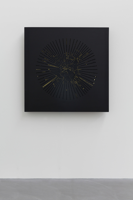Pol Bury, 'Ponctuation Lumineuse', 1959, Mixed Media, Aluminium, three fluorescent lights, electric engine, von Bartha