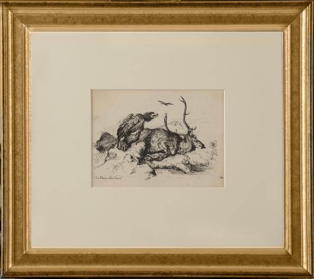 Edward Hopper, 'Sir Edwin Lansdeer (Dead Stag)', ca. 1900, Thurston Royce Gallery of Fine Art, LTD.