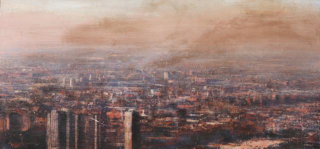, 'Panoramica industriel de Chicago,' 2013, Galerie Arcturus