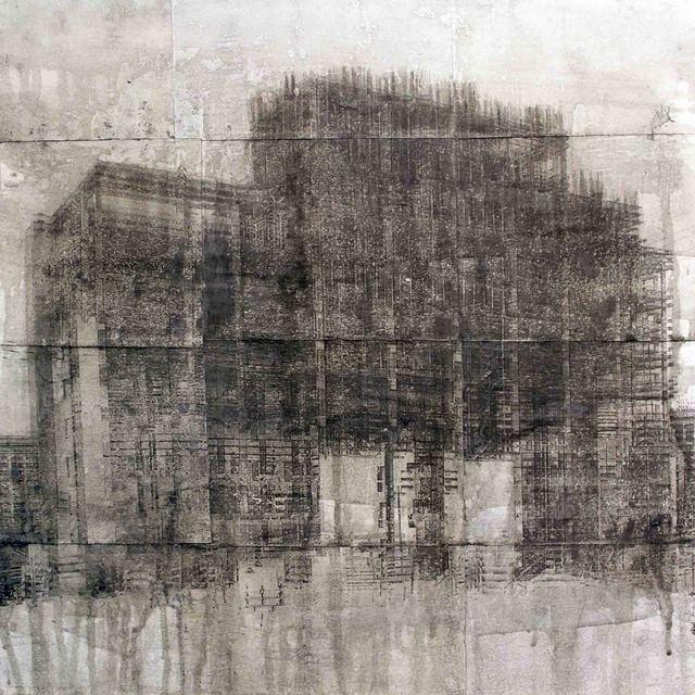 Amr Kafrawy, 2017, al markhiya gallery