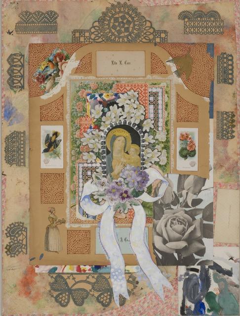 Joe Brainard, 'Madonna with Flowers IV', 1966, Tibor de Nagy