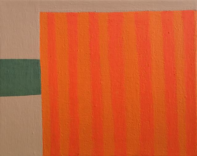 Danny Joe Rose III, 'Long Trip', 2019-2020, Painting, Oil pastel and enamel on canvas,  Objets Trouvés