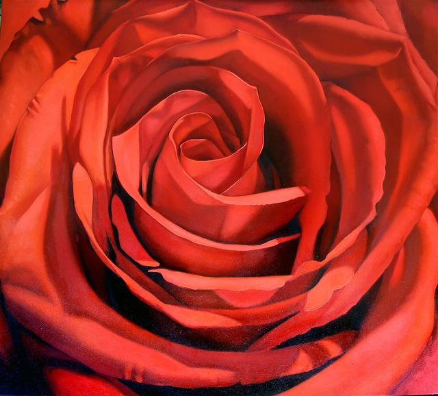 Margaret Morrison, 'Red Rose', 2008, Woodward Gallery
