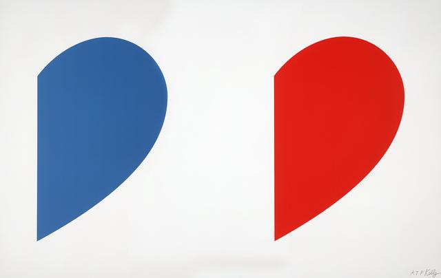 , 'Blue Curve / Red Curve,' 2014, Gemini G.E.L. at Joni Moisant Weyl