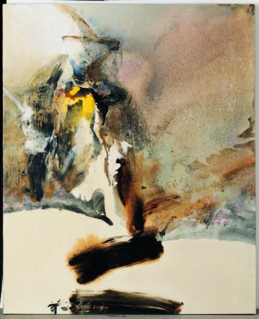 , 'Broken Ink Landscape,' 1977, Taipei Fine Arts Museum