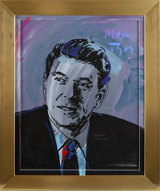 Peter Max, 'Ronald Reagan', 1989, Modern Artifact