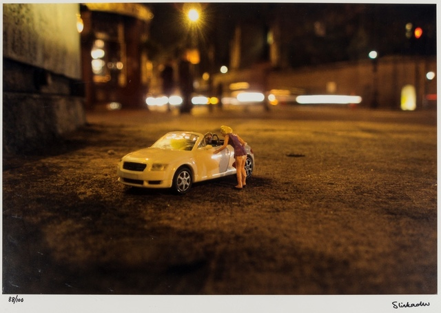 Slinkachu, 'For Sale/Sold', 2010, Forum Auctions