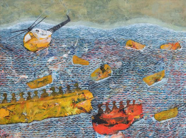 Tayseer Barakat, 'Untitled', 2019, Zawyeh Gallery