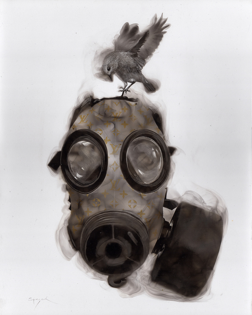 , 'Louis-Vuitton Gas Mask,' 2017, Adelson Galleries