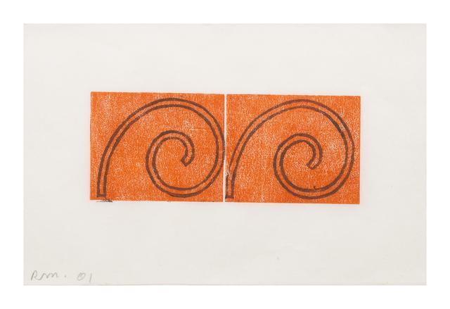 Robert Mangold, 'Untitled (Greeting Card 6)', 2001, Hindman
