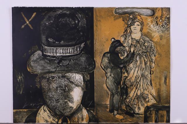 Jose Luis Cuevas, 'La Maga', 1972, Les Arts