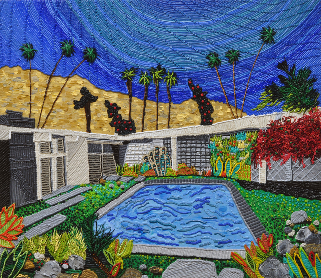 , 'Hockney House,' 2017, Craig Krull Gallery