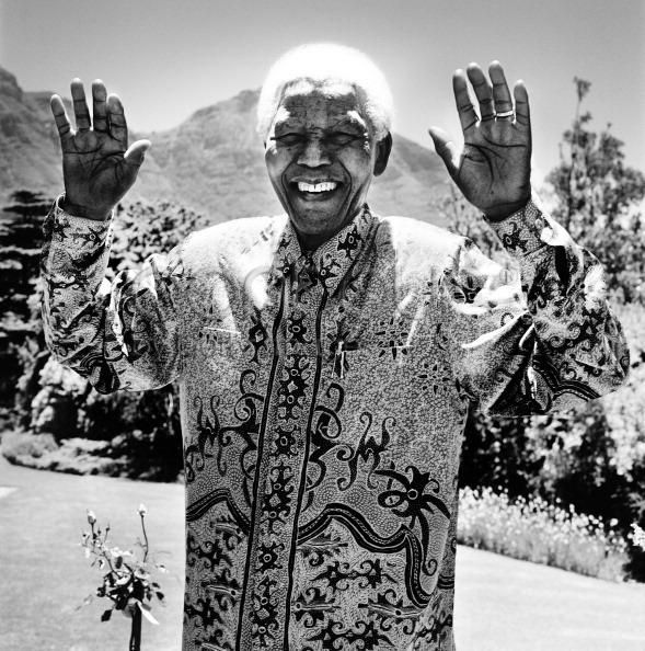, 'Nelson Mandela,' 2003, CAMERA WORK