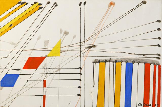 Alexander Calder, 'Untitled', 1963, Taylor | Graham