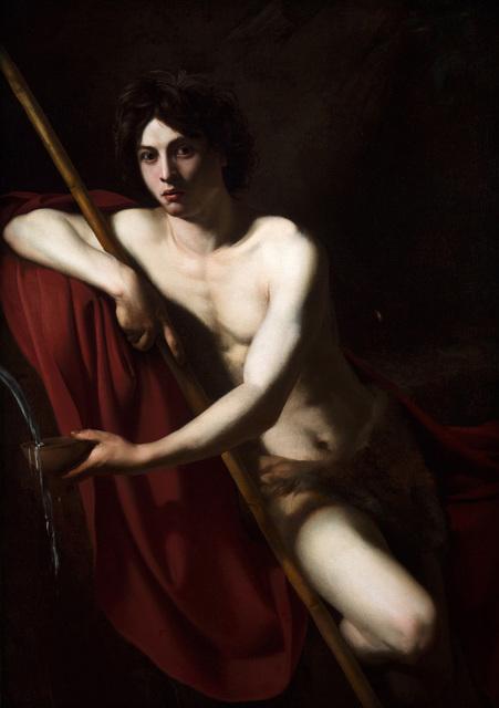 , 'St John the Baptist,' ca. 1610, Robilant + Voena