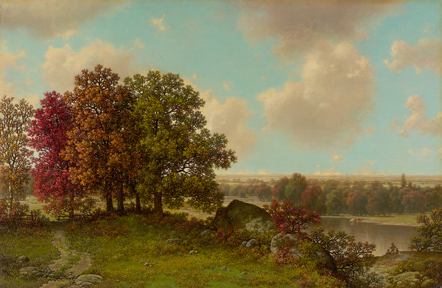 , 'Autumn Landscape,' , Questroyal Fine Art