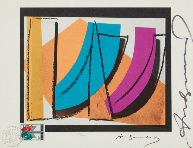 Andy Warhol, 'U. N. Stamp', 1979, Phillips
