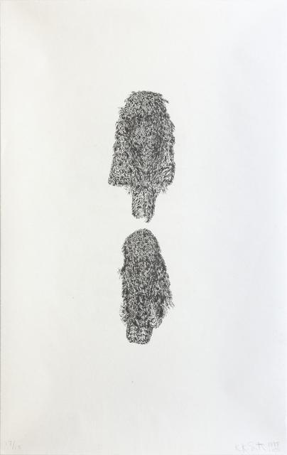 Kiki Smith, 'Two Owls', 1998-2003, Print, Lithograph, International Print Center New York (IPCNY) Benefit Auction
