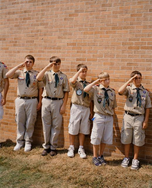 , 'Boy Scouts 1, Omaha, NE,' 2005-2018, Huxley-Parlour