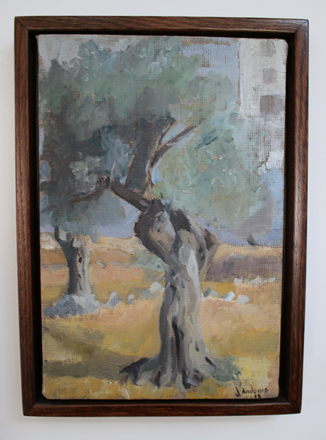 , 'Olive Tree,' 2015, Al Ma'mal Foundation for Contemporary Art