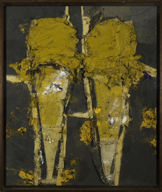 , 'Two Yellow Cones,' 2006, Contini Art Gallery