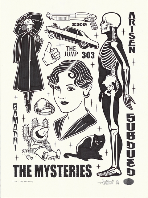 Mike Giant, 'The Mysteries', 2019, Black Book Gallery