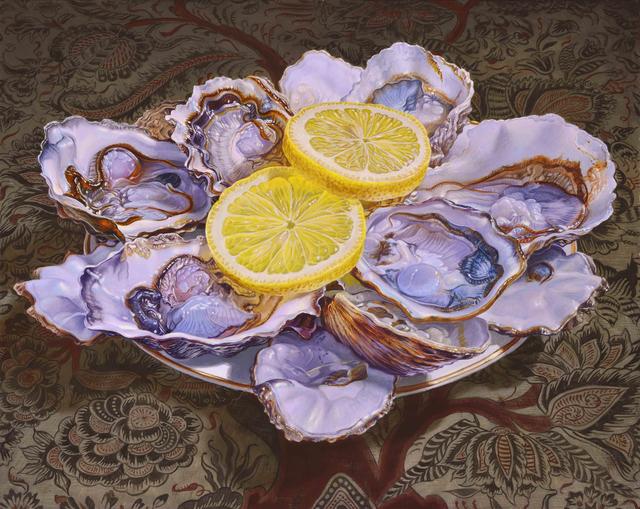 , 'Oysters,' 2015, Gallery Henoch