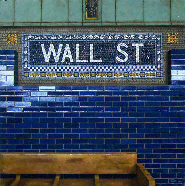 , 'Wall St. Bench #2,' 2013, Gallery Henoch